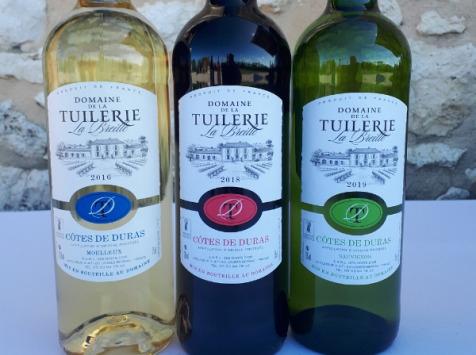 Domaine de la Tuilerie - Panachage AOP Côtes De Duras - Coffret de 6 X 75 cl