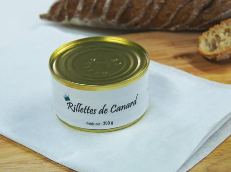 A la Truffe du Périgord - Rillettes De Canard 200g