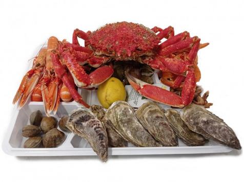 Luximer - Plateau de Fruits de Mer frais Du Gourmet - 2 Personnes