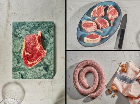 BEAUGRAIN, les viandes bien élevées - Colis spécial grillade - 6 personnes - environ 3.7 kg