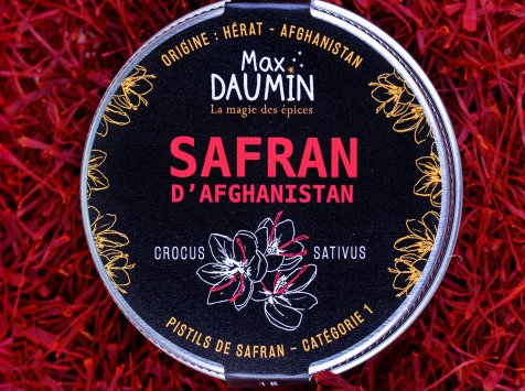 Epices Max Daumin - Safran pistils d'Afghanistan - Neguine