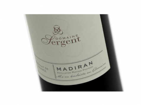 Domaine Sergent - Madiran 2017 Cuvée Tradition - 6 bouteilles