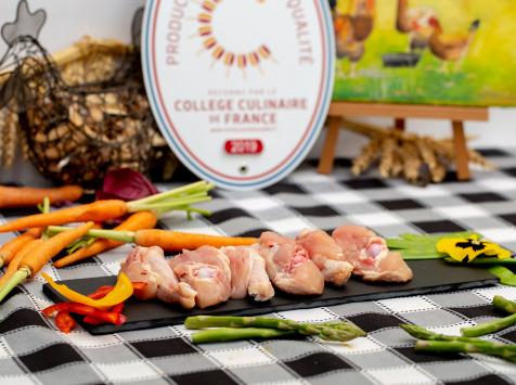 La ferme Grandvillain - Grignottes De Poulet 12 X 100 G