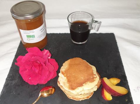 La Ferme du Montet - Confiture Extra de nectarine safran BIO - 220 g