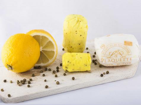 Beurre Plaquette - Le Beurre Citron Et Poivre Vert 100g