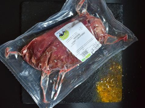 Michel et Alain Fermiers BIO - [SURGELE]  Steaks de Bœuf *** BIO – 4x100 g