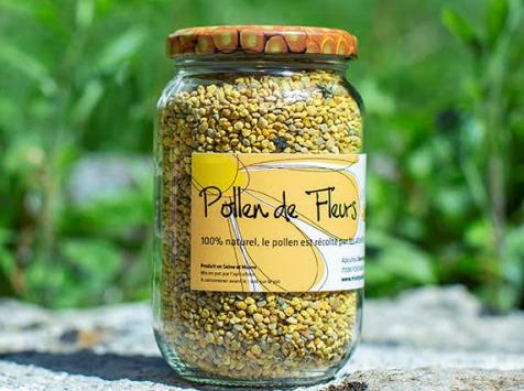 Miel et Pollen - Pollen De Fleurs 120g