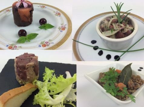 Christian Piot - Votre chef en ligne - Panier Repas «menu Tout Canard» Pour 2 Personnes