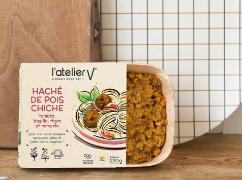L'Atelier V* - Haché De Pois Chiche, Tomate, Basilic, Thym Et Romarin