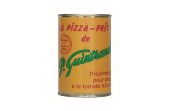 Conserves Guintrand - Sauce Pizza-prêt - Boite 1/2
