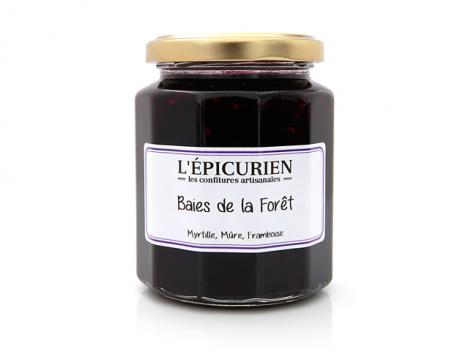 L'Epicurien - BAIES DE LA FORET (Myrtille, Mûre, Framboise)