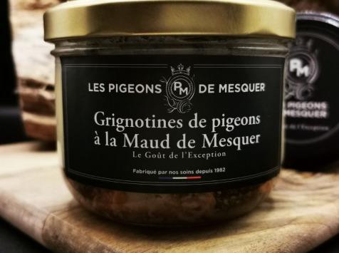 Les Pigeons de Mesquer - Grignotines de Pigeons à la Maud de Mesquer
