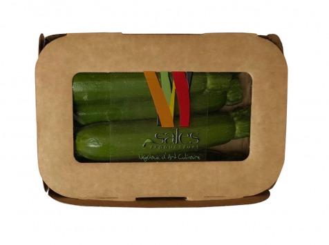 Maison Sales - Végétaux d'Art Culinaire - 18- Mini Courgette - 5 Pièces
