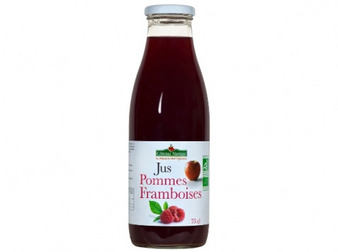 Les Côteaux Nantais - Jus Pommes Framboises 75 Cl