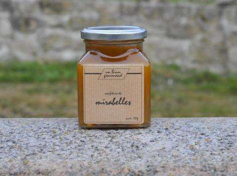 Un brun gourmand - Confiture De Mirabelle