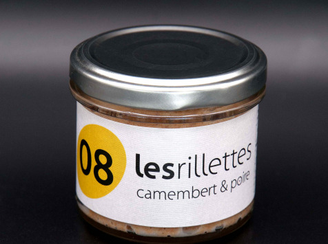 Secrets de Famille - Rillettes Camembert et Poire