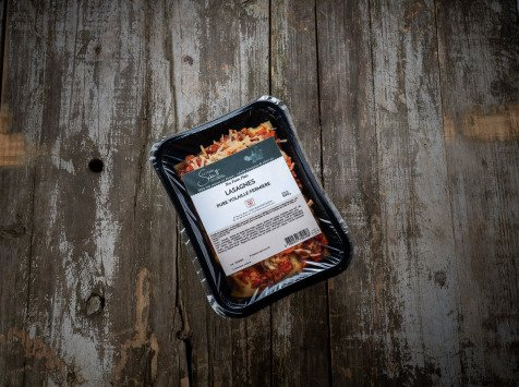 La Ferme Schmitt - Lasagnes Pure Volaille, la Barquette de 500g