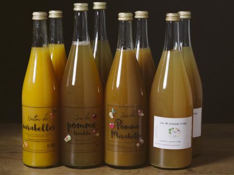La Ferme des Prun'Elles - Lot De 8 Jus De Fruits