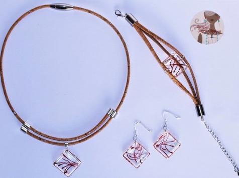 Le safran - l'or rouge des Ardennes - Parure de bijoux et thé