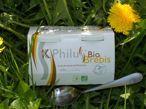 12 pots de k philus au lait entier de brebis pourdebon. Black Bedroom Furniture Sets. Home Design Ideas