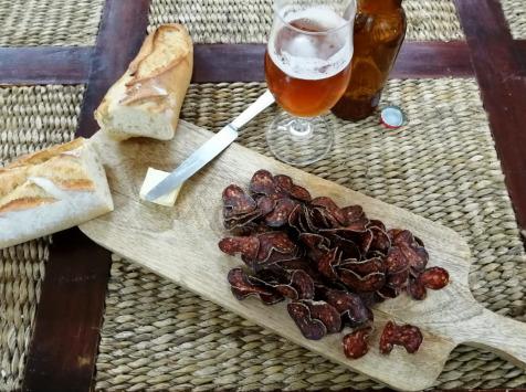 Ferme du caroire - Chorizo Chèvre Et Bœuf Tranchè