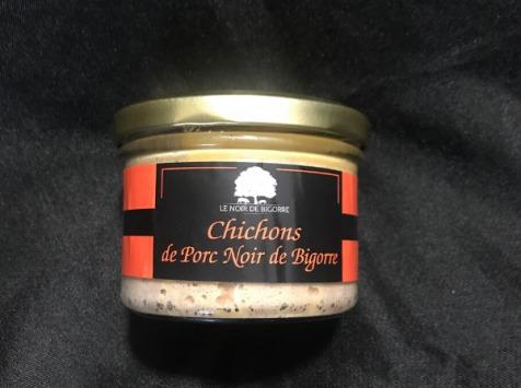 Marie et Nicolas REY - Domaine REY - Chichons de Porc Noir de Bigorre AOP