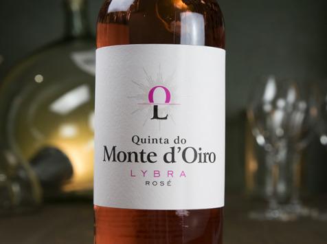 Dyvin - Quinta Do Monte D'oiro - Lybra Rosado - Lot De 3 Bouteilles