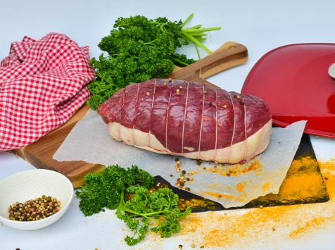 Michel et Alain Fermiers BIO - [SURGELÉ] Rôti de Bœuf Faux Filet *** BIO – 1 kg
