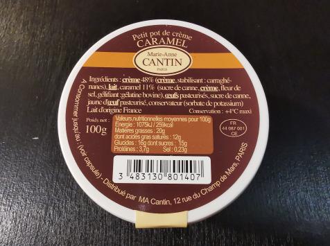 La Fromagerie Marie-Anne Cantin - Petit Pot De Crème Caramel