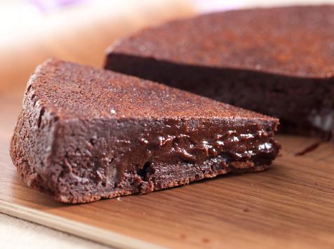 La Tarte Tropézienne - Fondant au chocolat