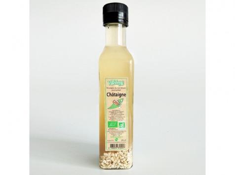 Jean-Paul Vincensini et Fils - Vinaigre de Vin Blanc Aromatisé à la Châtaigne Bio