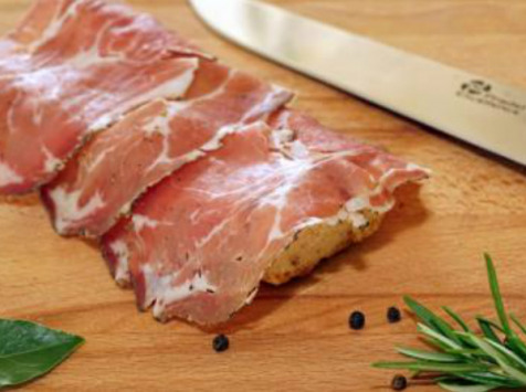 La ferme d'Enjacquet - Coppa De Porc Élevé En Plein Air