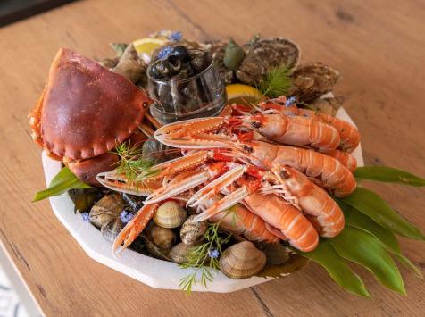 Ô'Poisson - Plateau De Fruits De Mer - avec crabe - pour 2 Personnes