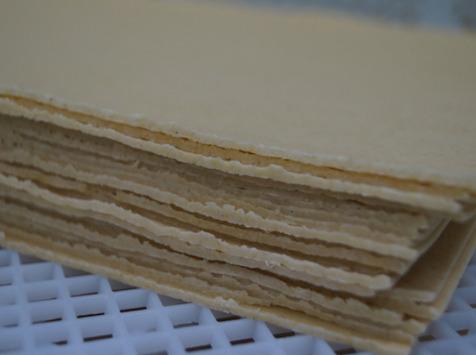 Lioravi, l'authentique pâte fraîche ! - 10 X Sachet de 370G de Feuilles De Lasagne (6 Feuilles) Biologique Ultra Frais