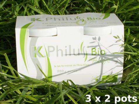Laiterie du Climont - K-Philus - 6 Pots De K-philus Au Lait Écrémé 0%