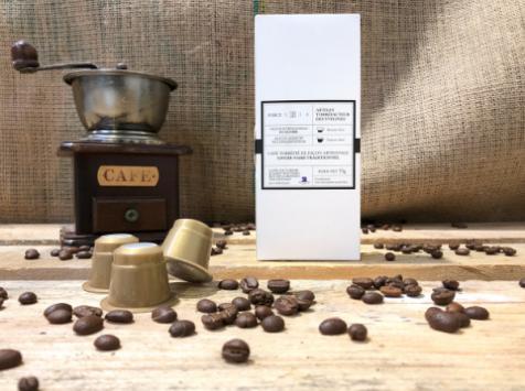 Cafés Factorerie - Café Mélange Le Gourmand : Assemblage de 3 Arabicas - 10 capsules