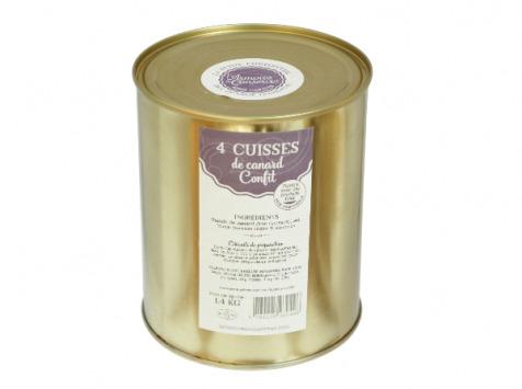 L'Armoire à Conserves - Quatre Cuisses De Canard Confites