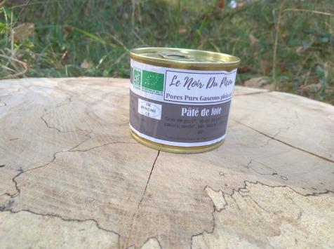 Le Noir du Picou Elodie Ribas - Pâté de Foie de Porc Gascon Bio