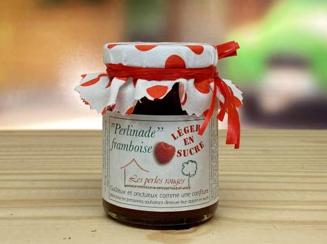 Les Perles Rouges - Perlinade Framboise (léger En Sucre) (convient Aux Diabétiques*)