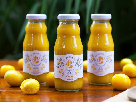 """Jus de fruits """"Ju"""" - Caja - """"superfruit""""-  Nectar  Artisanal - 9x20cl"""