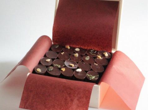 Mon jardin chocolaté - Boîte En Bois De 20 Chocolats