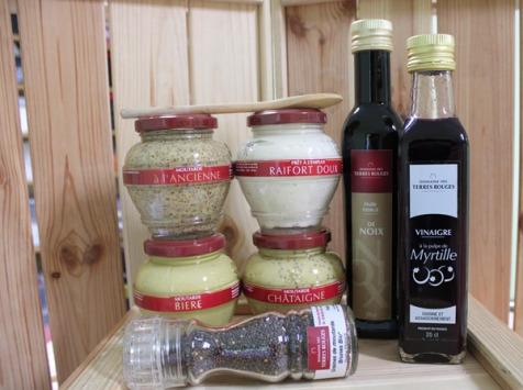 Domaine des Terres Rouges - Lot de Condiments du Terroir français