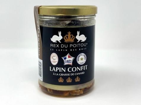 SCA des éleveurs d'Orylag - Confit de Lapin ( Gigolettes )