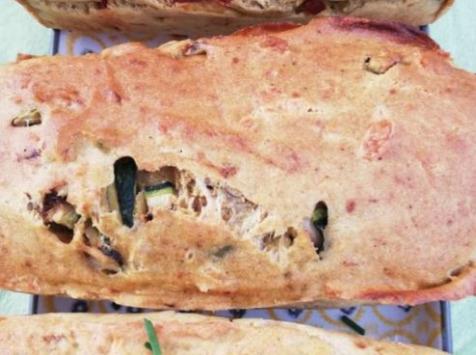 Les Cannelés d'Audrey - Cake de saison courgettes curry sans gluten