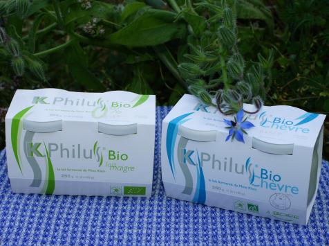 Laiterie du Climont - K-Philus - Lot : 6 Pots K-Philus lait de Vache et 6 Pots K-Philus lait de Chèvre