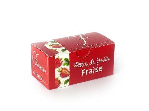 La Fraiseraie - Pâtes de Fruits Fraise 225g