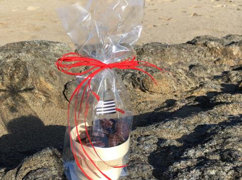LES GOURMANDS D'OUEST - Chocolats de Pâques Au Lait - Bourriche Ronde Friture De La Mer