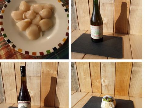 Gourmets de l'Ouest - Panier Saint Jacques