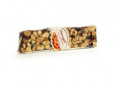 Les amandes et olives du Mont Bouquet - Nougat noir 100 g