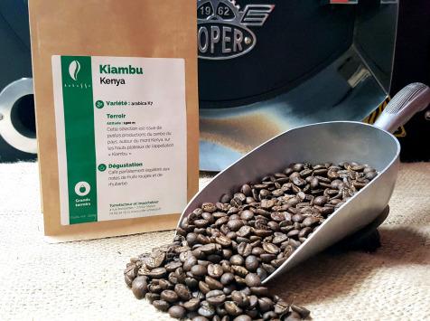 Brûlerie de Melun-Maison Anbassa - Café Kiambu-kenya - En Grains